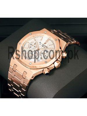 Audemars Piguet Royal Oak Chronograph Rose Gold Watch Price in Pakistan