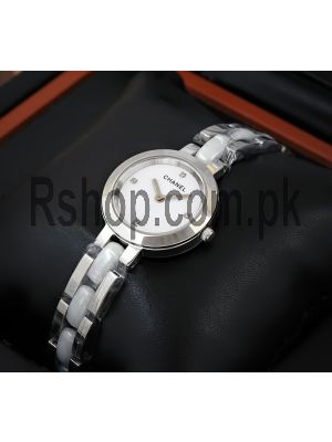 Chanel Ladies Silver Chain Watch Price in Pakistan