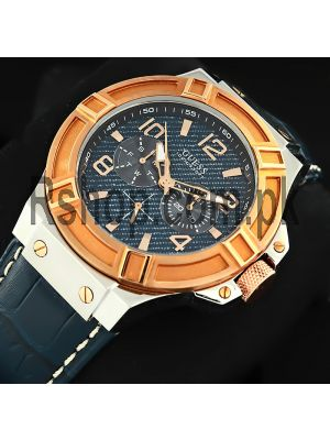 GUESS Men's Rigor Iconic Blue Watch Price in Pakistan