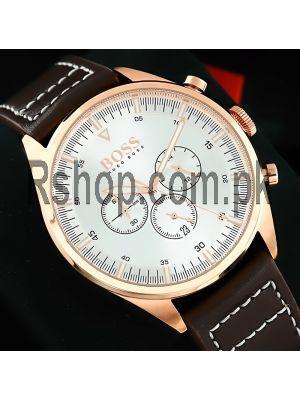 Hugo Boss Champion Silver Dial Chronograph Watch Price in Pakistan
