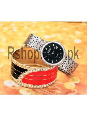 Longines Sapphire Black Dial Watch Price in Pakistan