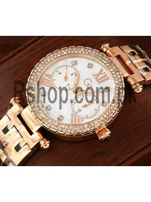 Guess Diamond GC Lady Chic Rose Gold Watch Price in Pakistan